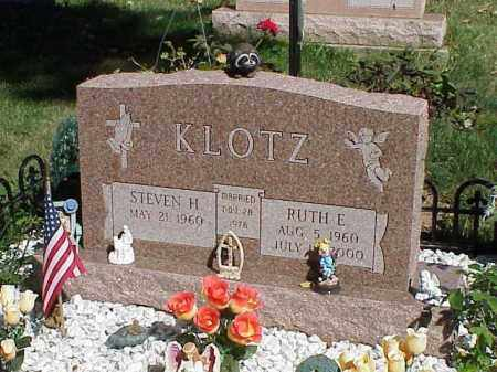 KLOTZ, RUTH E. - Richland County, Ohio | RUTH E. KLOTZ - Ohio Gravestone Photos