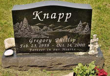 KNAPP, GREGORY PHILLIP - Richland County, Ohio | GREGORY PHILLIP KNAPP - Ohio Gravestone Photos