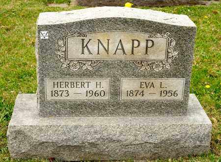KNAPP, EVA L - Richland County, Ohio | EVA L KNAPP - Ohio Gravestone Photos