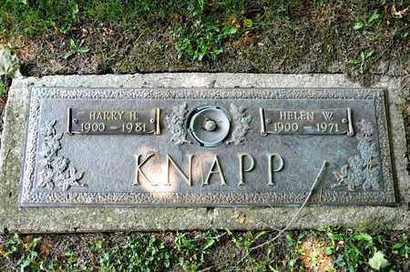 KNAPP, HELEN W - Richland County, Ohio | HELEN W KNAPP - Ohio Gravestone Photos