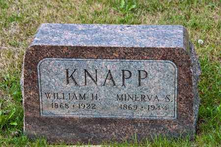 KNAPP, MINERVA S - Richland County, Ohio | MINERVA S KNAPP - Ohio Gravestone Photos