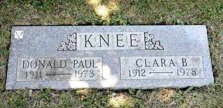 KNEE, DONALD PAUL - Richland County, Ohio | DONALD PAUL KNEE - Ohio Gravestone Photos
