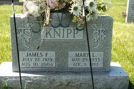 KNIPP, JAMES F - Richland County, Ohio | JAMES F KNIPP - Ohio Gravestone Photos