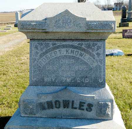 KNOWLES, ROBERT - Richland County, Ohio | ROBERT KNOWLES - Ohio Gravestone Photos