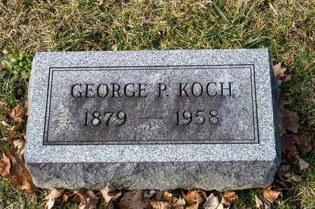 KOCH, GEORGE P - Richland County, Ohio | GEORGE P KOCH - Ohio Gravestone Photos