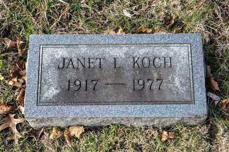 KOCH, JANET L - Richland County, Ohio | JANET L KOCH - Ohio Gravestone Photos
