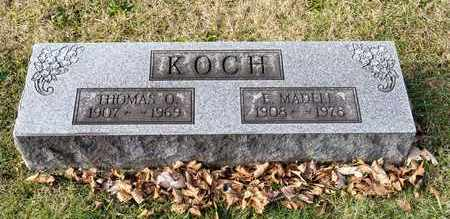 KOCH, E MADELE - Richland County, Ohio | E MADELE KOCH - Ohio Gravestone Photos