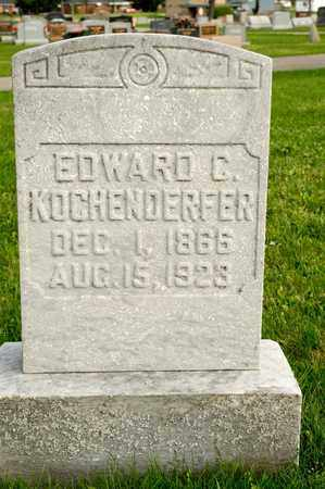 KOCHENDERFER, EDWARD C - Richland County, Ohio | EDWARD C KOCHENDERFER - Ohio Gravestone Photos