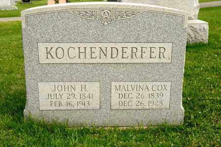 COX KOCHENDERFER, MALVINA - Richland County, Ohio | MALVINA COX KOCHENDERFER - Ohio Gravestone Photos