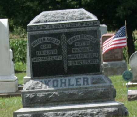 KOEHLER, LOUISA - Richland County, Ohio | LOUISA KOEHLER - Ohio Gravestone Photos