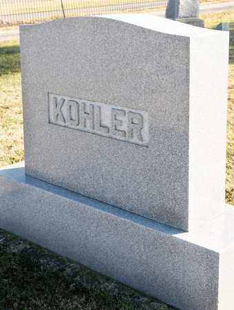 KOHLER, MARIA A - Richland County, Ohio | MARIA A KOHLER - Ohio Gravestone Photos