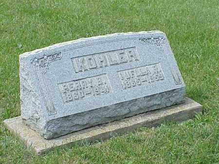 KOHLER, LUELLA R. - Richland County, Ohio | LUELLA R. KOHLER - Ohio Gravestone Photos