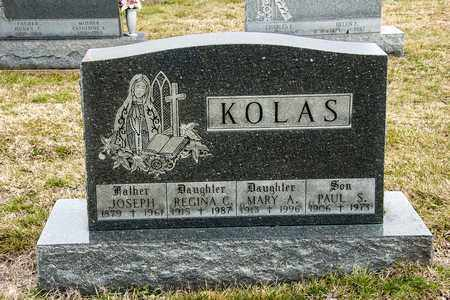KOLAS, PAUL S - Richland County, Ohio | PAUL S KOLAS - Ohio Gravestone Photos