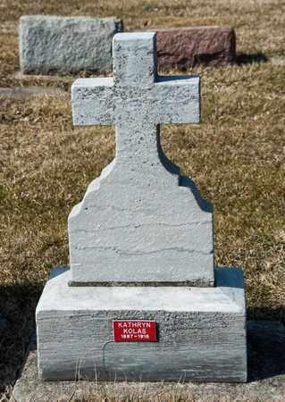 KOLAS, KATHRYN - Richland County, Ohio | KATHRYN KOLAS - Ohio Gravestone Photos