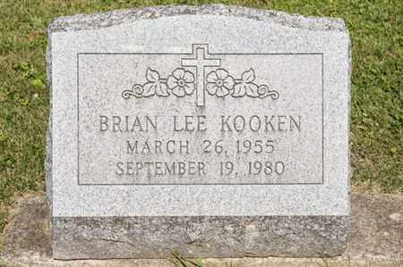 KOOKEN, BRIAN LEE - Richland County, Ohio | BRIAN LEE KOOKEN - Ohio Gravestone Photos