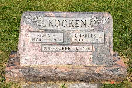 KOOKEN, ROBERT D - Richland County, Ohio | ROBERT D KOOKEN - Ohio Gravestone Photos