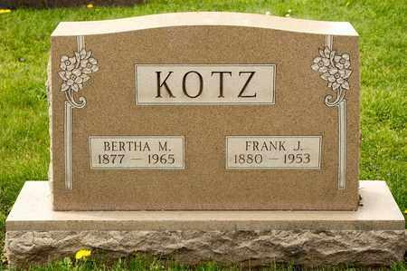 KOTZ, FRANK J - Richland County, Ohio | FRANK J KOTZ - Ohio Gravestone Photos
