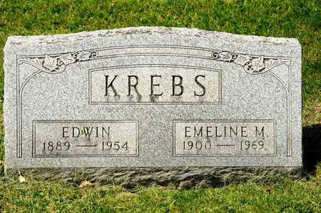 KREBS, EMELINE M - Richland County, Ohio | EMELINE M KREBS - Ohio Gravestone Photos
