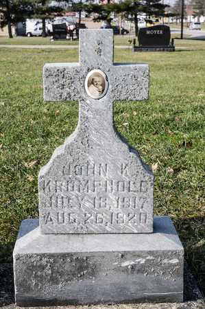 KROMPHOLC, JOHN K - Richland County, Ohio | JOHN K KROMPHOLC - Ohio Gravestone Photos