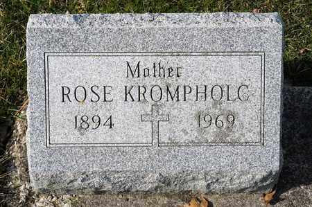 KROMPHOLC, ROSE - Richland County, Ohio | ROSE KROMPHOLC - Ohio Gravestone Photos
