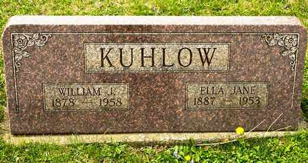KUHLOW, WILLIAM J - Richland County, Ohio | WILLIAM J KUHLOW - Ohio Gravestone Photos