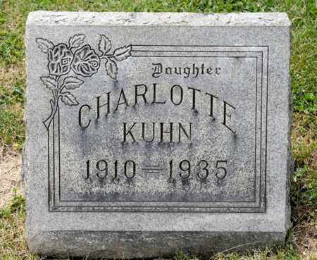 KUHN, CHARLOTTE - Richland County, Ohio | CHARLOTTE KUHN - Ohio Gravestone Photos