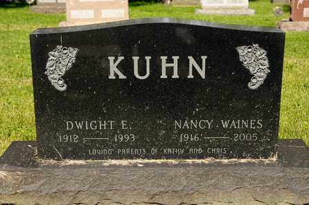 WAINES KUHN, NANCY - Richland County, Ohio | NANCY WAINES KUHN - Ohio Gravestone Photos