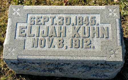 KUHN, ELIJAH - Richland County, Ohio | ELIJAH KUHN - Ohio Gravestone Photos
