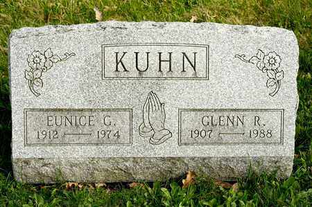 KUHN, GLENN R - Richland County, Ohio | GLENN R KUHN - Ohio Gravestone Photos