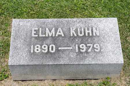 KUHN, ELMA - Richland County, Ohio | ELMA KUHN - Ohio Gravestone Photos