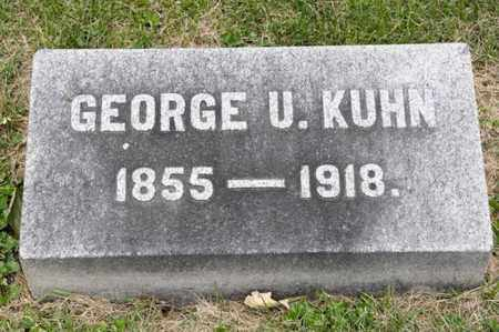 KUHN, GEORGE U - Richland County, Ohio | GEORGE U KUHN - Ohio Gravestone Photos