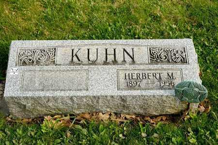 KUHN, HERBERT M - Richland County, Ohio | HERBERT M KUHN - Ohio Gravestone Photos