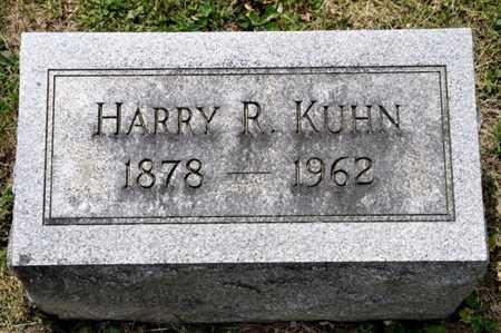 KUHN, HARRY R - Richland County, Ohio | HARRY R KUHN - Ohio Gravestone Photos
