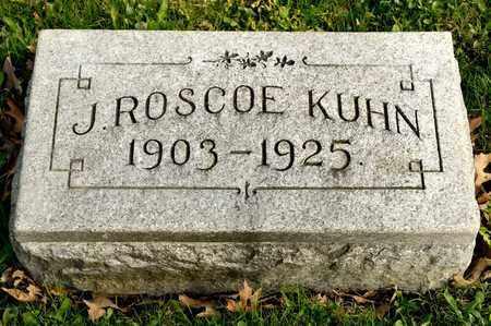 KUHN, J ROSCOE - Richland County, Ohio | J ROSCOE KUHN - Ohio Gravestone Photos