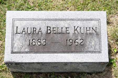 KUHN, LAURA BELLE - Richland County, Ohio | LAURA BELLE KUHN - Ohio Gravestone Photos