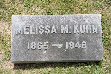 KUHN, MELISSA M - Richland County, Ohio | MELISSA M KUHN - Ohio Gravestone Photos