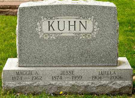 KUHN, LUELLA - Richland County, Ohio | LUELLA KUHN - Ohio Gravestone Photos