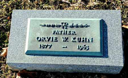 KUHN, ORVIE W - Richland County, Ohio | ORVIE W KUHN - Ohio Gravestone Photos