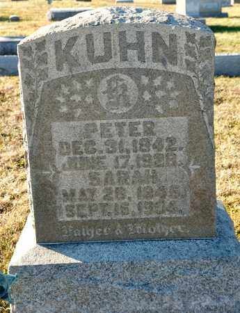 KUHN, PETER - Richland County, Ohio | PETER KUHN - Ohio Gravestone Photos