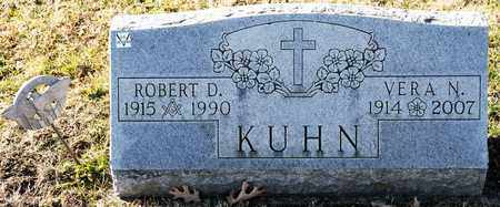 KUHN, ROBERT D - Richland County, Ohio | ROBERT D KUHN - Ohio Gravestone Photos