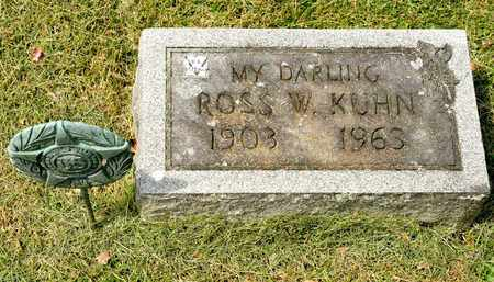 KUHN, ROSS W - Richland County, Ohio | ROSS W KUHN - Ohio Gravestone Photos