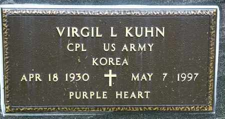 KUHN, VIRGIL L - Richland County, Ohio | VIRGIL L KUHN - Ohio Gravestone Photos