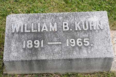 KUHN, WILLIAM B - Richland County, Ohio | WILLIAM B KUHN - Ohio Gravestone Photos