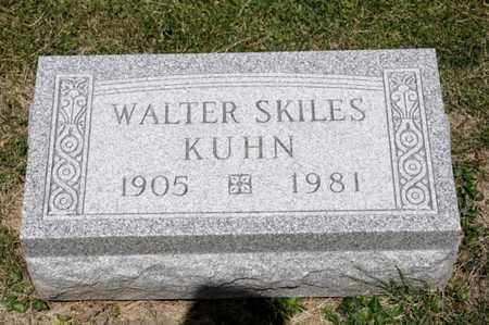 KUHN, WALTER SKILES - Richland County, Ohio | WALTER SKILES KUHN - Ohio Gravestone Photos