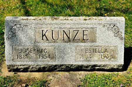 KUNZE, ESTELLA - Richland County, Ohio | ESTELLA KUNZE - Ohio Gravestone Photos