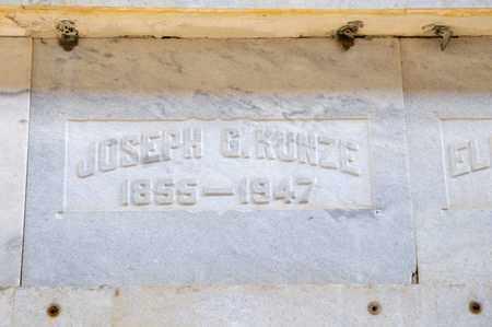 KUNZE, JOSEPH G - Richland County, Ohio | JOSEPH G KUNZE - Ohio Gravestone Photos