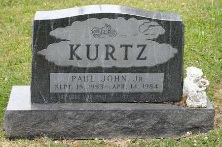 KURTZ JR, PAUL JOHN - Richland County, Ohio | PAUL JOHN KURTZ JR - Ohio Gravestone Photos