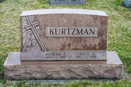 KURTZMAN, LOUIS P - Richland County, Ohio | LOUIS P KURTZMAN - Ohio Gravestone Photos
