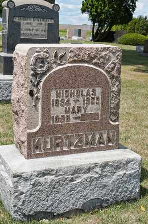 KURTZMAN, NICHOLAS - Richland County, Ohio | NICHOLAS KURTZMAN - Ohio Gravestone Photos