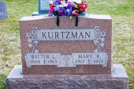 KURTZMAN, WALTER L - Richland County, Ohio | WALTER L KURTZMAN - Ohio Gravestone Photos